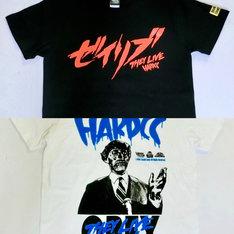 上から「ゼイリブ(THEY LIVE)CONSUMEブラック Tシャツ」、「ゼイリブ(THEY LIVE)OBEYホワイト Tシャツ」。