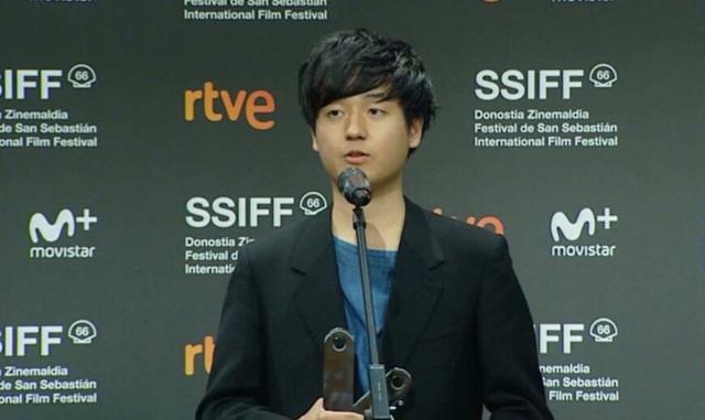 奥山大史 (c)San Sebastian International Film Festival 2018