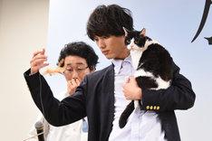 「旅猫リポート」公開前イベントの様子。