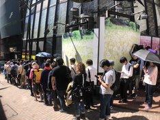 「カメラを止めま展!」東京会場の様子。