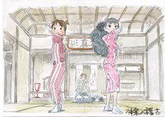 映画「若おかみは小学生!」のイメージボード。