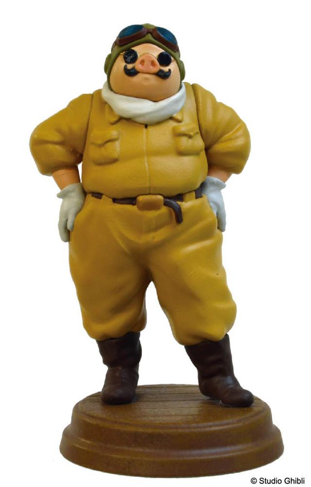 「紅の豚 ポーズがいっぱいコレクションデラックス ポルコ・ロッソ」より、飛行服姿のポルコ。