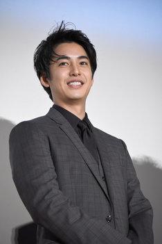 2018年10月26日の「旅猫リポート」初日舞台挨拶に出席した大野拓朗。