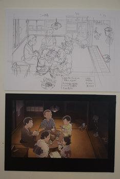 「映画『この世界の片隅に』~すずさんのおうち展」の展示例。(c)こうの史代・双葉社/「この世界の片隅に」製作委員会