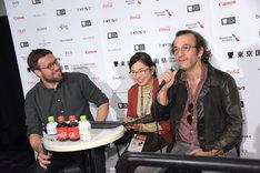 左からマキシム・ジルー、マルタン・デュブレイユ。