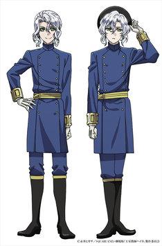 ロマーノ王国第1王子のイヴァン(左)と、第2王子のユージン(右)。