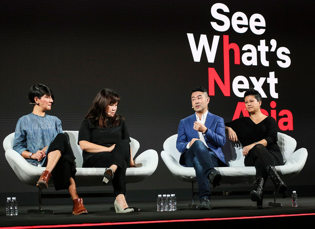 「See What's Next: Asia」の様子。