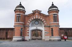 映画のロケ地となった旧奈良監獄。