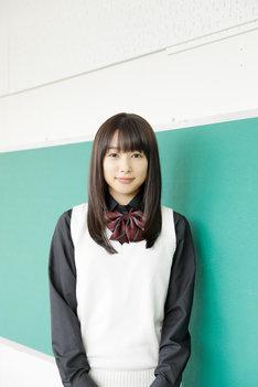 「僕の初恋をキミに捧ぐ」より、種田繭役の桜井日奈子。