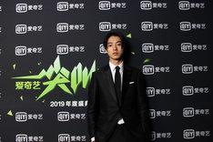 IQIYI授賞式に出席した山崎賢人。