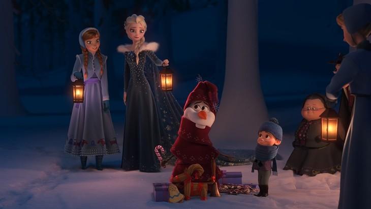 「アナと雪の女王/家族の思い出」 (c)Disney Enterprises, Inc.