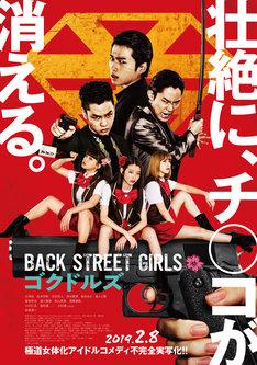 「BACK STREET GIRLS -ゴクドルズ-」ポスタービジュアル