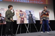 「銀魂2 掟は破るためにこそある」Blu-ray / DVD発売記念イベントの様子。