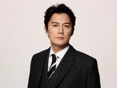 「集団左遷!!」より、福山雅治演じる片岡洋。(c)TBS