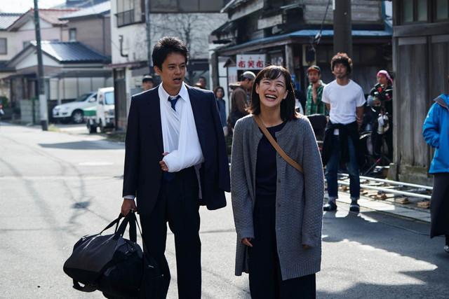 映画「宮本から君へ」メイキング写真