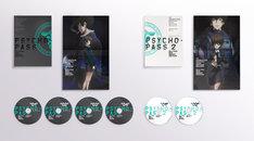 「PSYCHO-PASS サイコパス 新編集版」&「PSYCHO-PASS サイコパス 2」Blu-ray BOX Smart Edition展開図