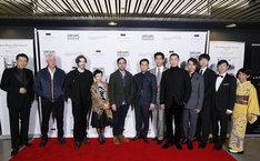 「ショートショート フィルムフェスティバル in ハリウッド」レッドカーペットの様子。