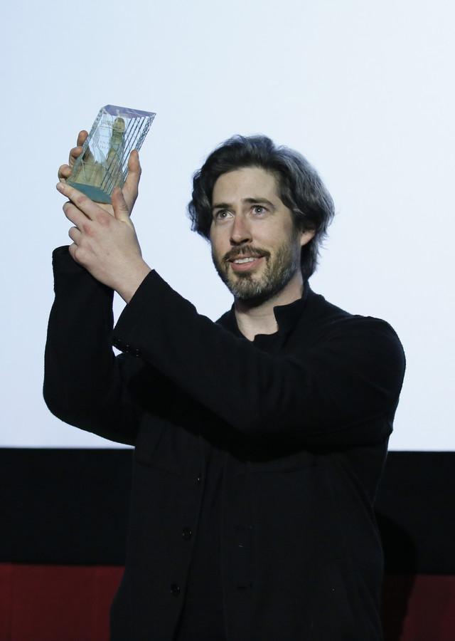 名誉賞が贈られたジェイソン・ライトマン。