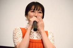 コメンタリー中に号泣してしまった高田夏帆。