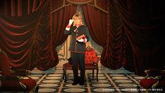 「劇場版『王室教師ハイネ』」本編先付映像より、安達勇人演じるブルーノ・フォン・グランツライヒ。