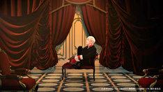 「劇場版『王室教師ハイネ』」本編先付映像より、廣瀬大介演じるレオンハルト・フォン・グランツライヒ。