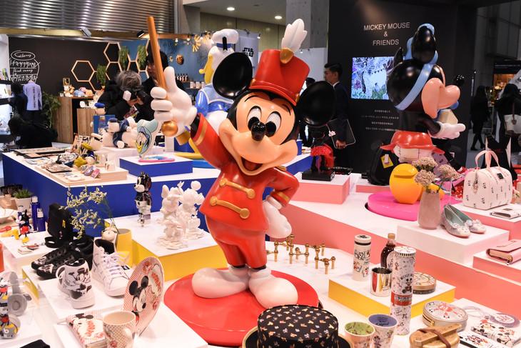 「DISNEY EXPO JAPAN 2019」より、ミッキーマウスのブース。