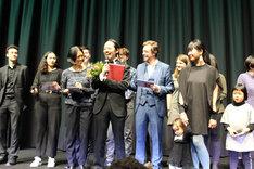 第69回ベルリン国際映画祭ジェネレーション(14plus)部門の授賞式の様子。