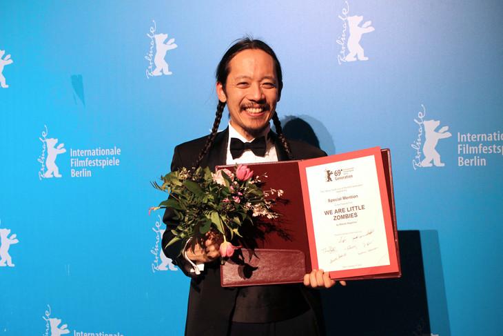 第69回ベルリン国際映画祭のジェネレーション(14plus)部門でスペシャルメンション賞を受賞した長久允。