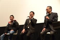「仮面ライダーW FOREVER AtoZ/運命のガイアメモリ」リバイバル上映会の様子。