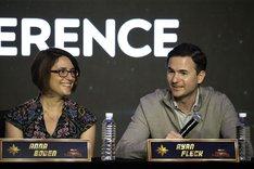 左からアンナ・ボーデン、ライアン・フレック。