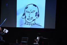 横山涼の描いた「ダルメシマン」。