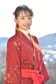 華村あすか演じる神蔵紅芭。