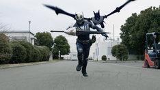 「仮面ライダージオウ スピンオフ RIDER TIME 仮面ライダー龍騎」予告編より。