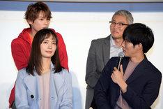 ドラマ「パーフェクトワールド」製作発表会見の様子。