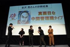 吉沢亮の「キングダム」キャラクター診断の結果。