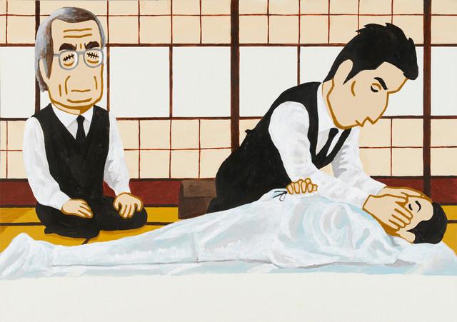 「『おくりびと』(「CINEMA CALENDAR 2010」より)」