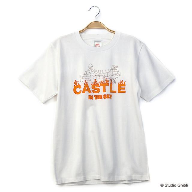 「天空の城ラピュタ Tシャツ シータ奪還」(ホワイト)
