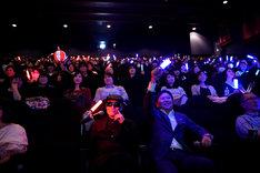 「翔んで埼玉」応援上映の様子。