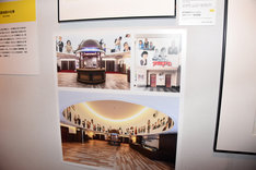 宮崎が看板とロビーを手がけた広島・夢売劇場サロンシネマの写真。