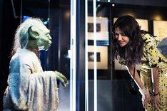 シドニーの「STAR WARS Identities: The Exhibition」を訪れた市川紗椰。