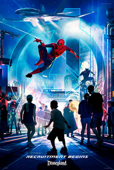「スーパー・ヒーローのテーマランド SUPER HERO-THEMED LAND」ビジュアル (c)Disney (c)2019 MARVEL