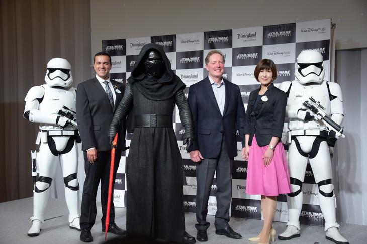 アメリカ ディズニーリゾート最新情報プレス発表会の様子。