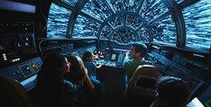 「ミレニアム・ファルコン:スマグラーズ・ラン」のイメージ。(c)Disney/Lucasfilm Ltd.  (c) & TM Lucasfilm Ltd.