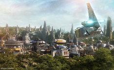 「スター・ウォーズ:ギャラクシーズ・エッジ」のイメージ。(c)Disney/Lucasfilm Ltd.  (c) & TM Lucasfilm Ltd.