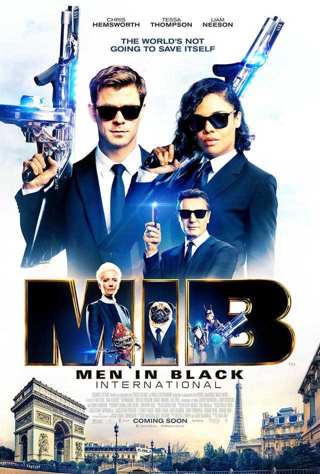 「メン・イン・ブラック:インターナショナル」海外版ポスター