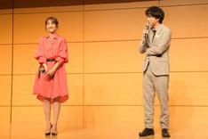 左から堀田茜、稲葉友。