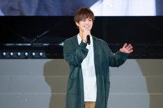 5月3日に開催された「仮面ライダージオウ スペシャルイベント 魔王の宴」より、奥野壮。
