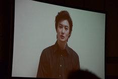 岡田将生のビデオメッセージ。