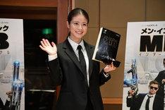 「メン・イン・ブラック:インターナショナル」日本語吹替版の公開アフレコに参加した今田美桜。