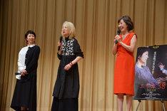 「エリカ38」特別試写会舞台挨拶の様子。